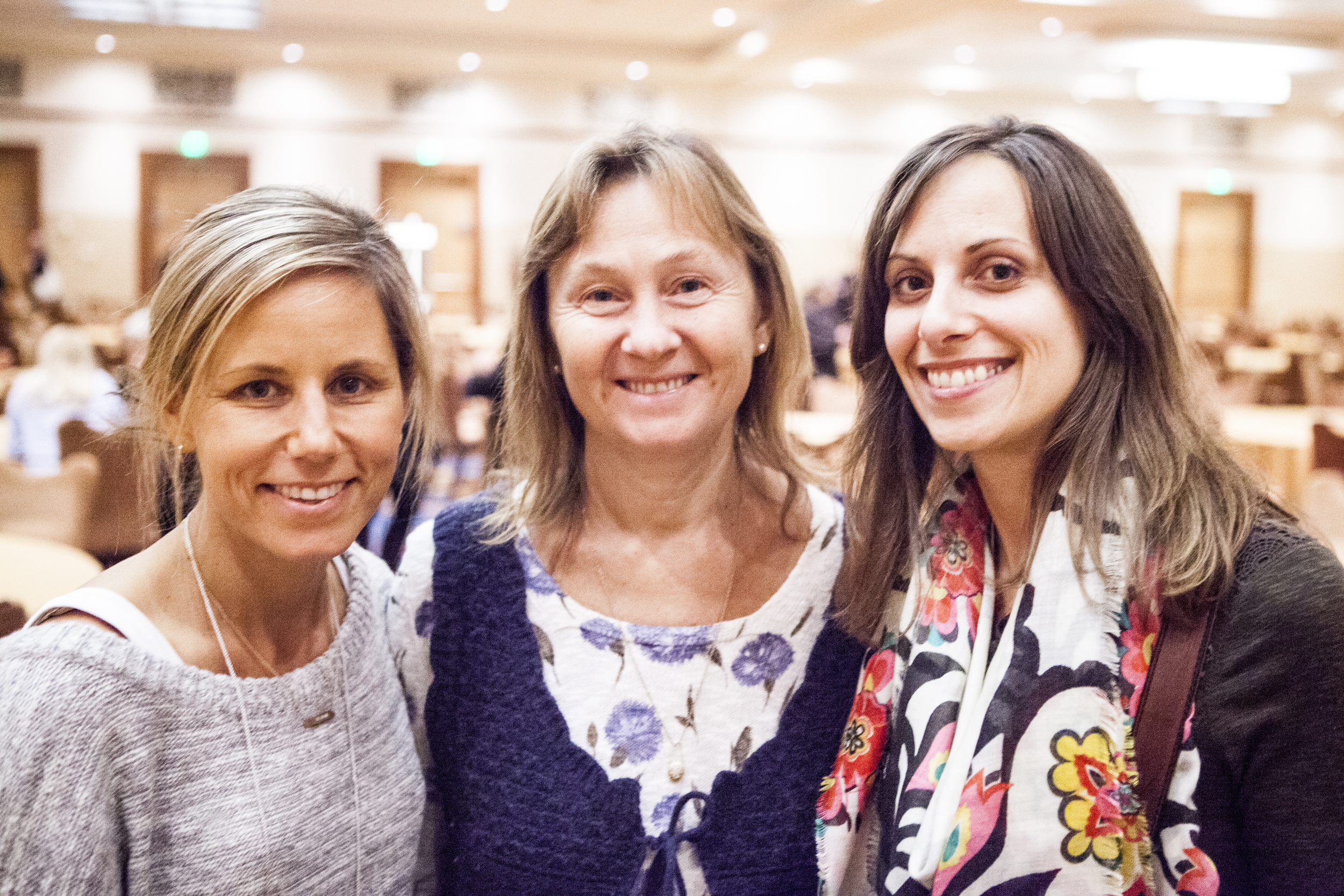 Hilary, Dr. Natasha and Mary at the 2014 Weston A Price Foundation Conference