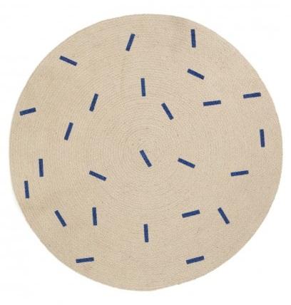 Ferm Living Blue Sticks / 100cm 100% Jute / $89 - from  Leo and Bella