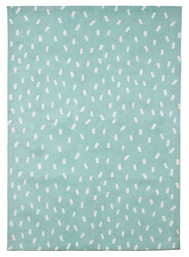 Mint Fleck Rug / 100x140cm Cotton / $59 - from Adairs