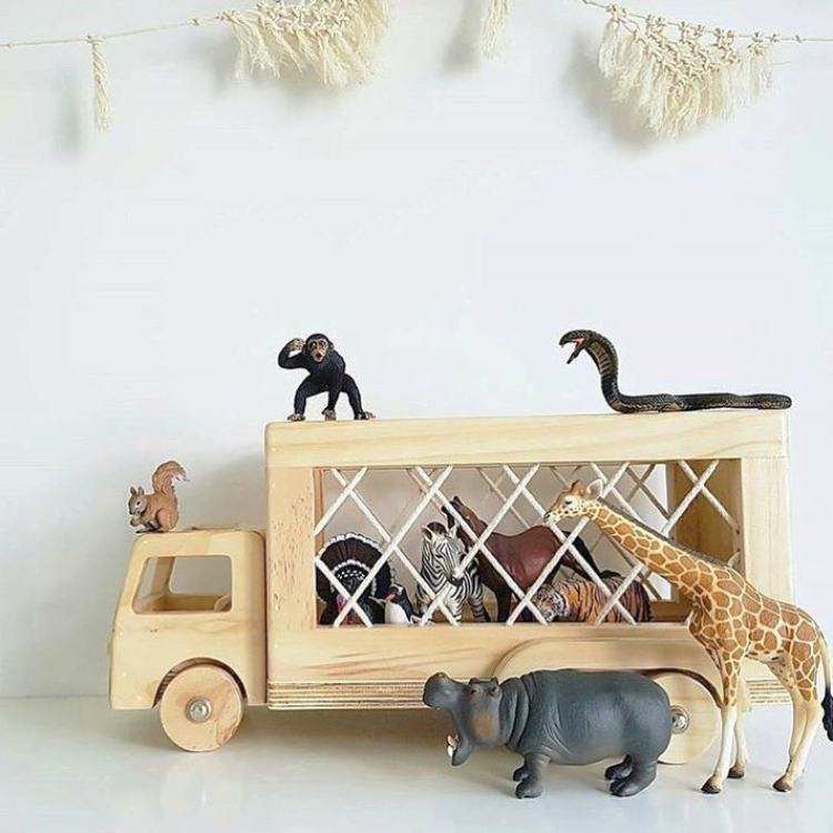 Such Great Heights / The George Truck / $109 / If you're to buy your child a toy this Christmas, make it wooden. The kind that doesn't end up in landfill after 5 minutes of use. Handmade in SA, this truck is sure to be a keepsake for generations to come. Ethically made with a design aesthetic sure to appeal to the mamas and papas too.