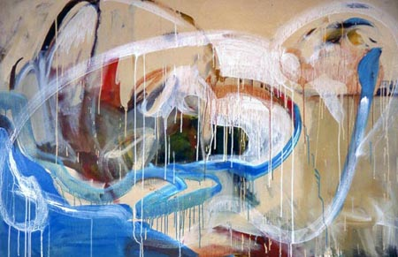Untitled 90    acrylic on canvas    48 x 72 inches    2002