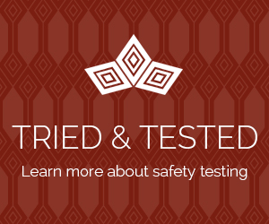 Learn more about our safety testing procedure
