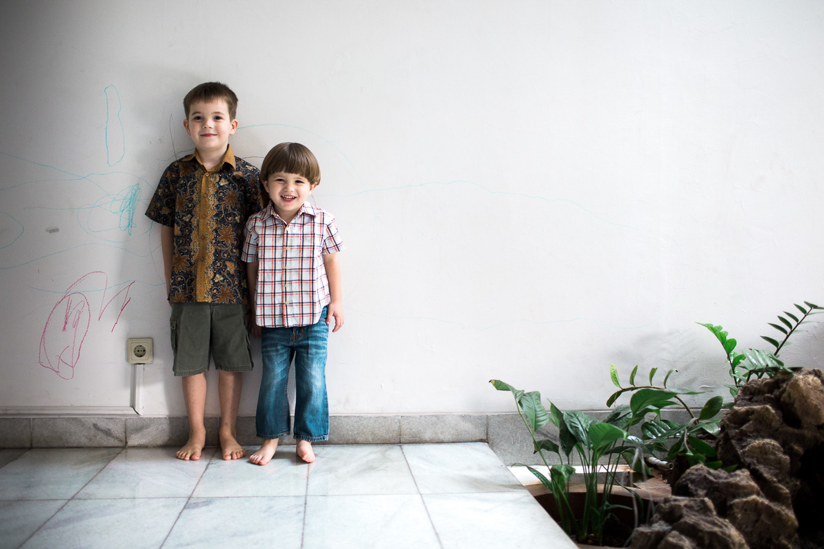 Two Little Birds - At home in Jakarta
