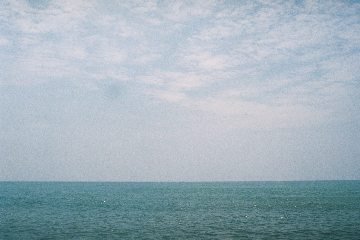 a view out over the hoizion on kuantan beach by kuala lumpur photographer erica knecht