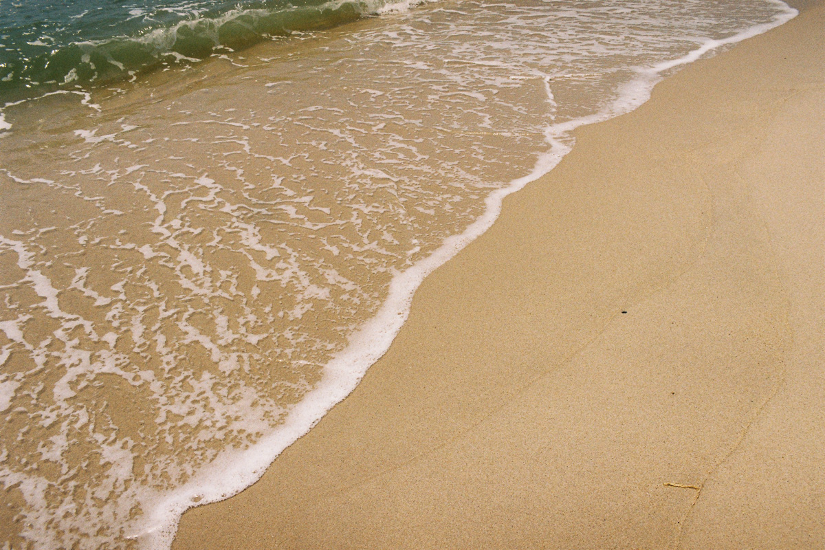 sea shore of kuantan beach -35 mm film - kodak gold - kuala lumpur photographer erica knecht