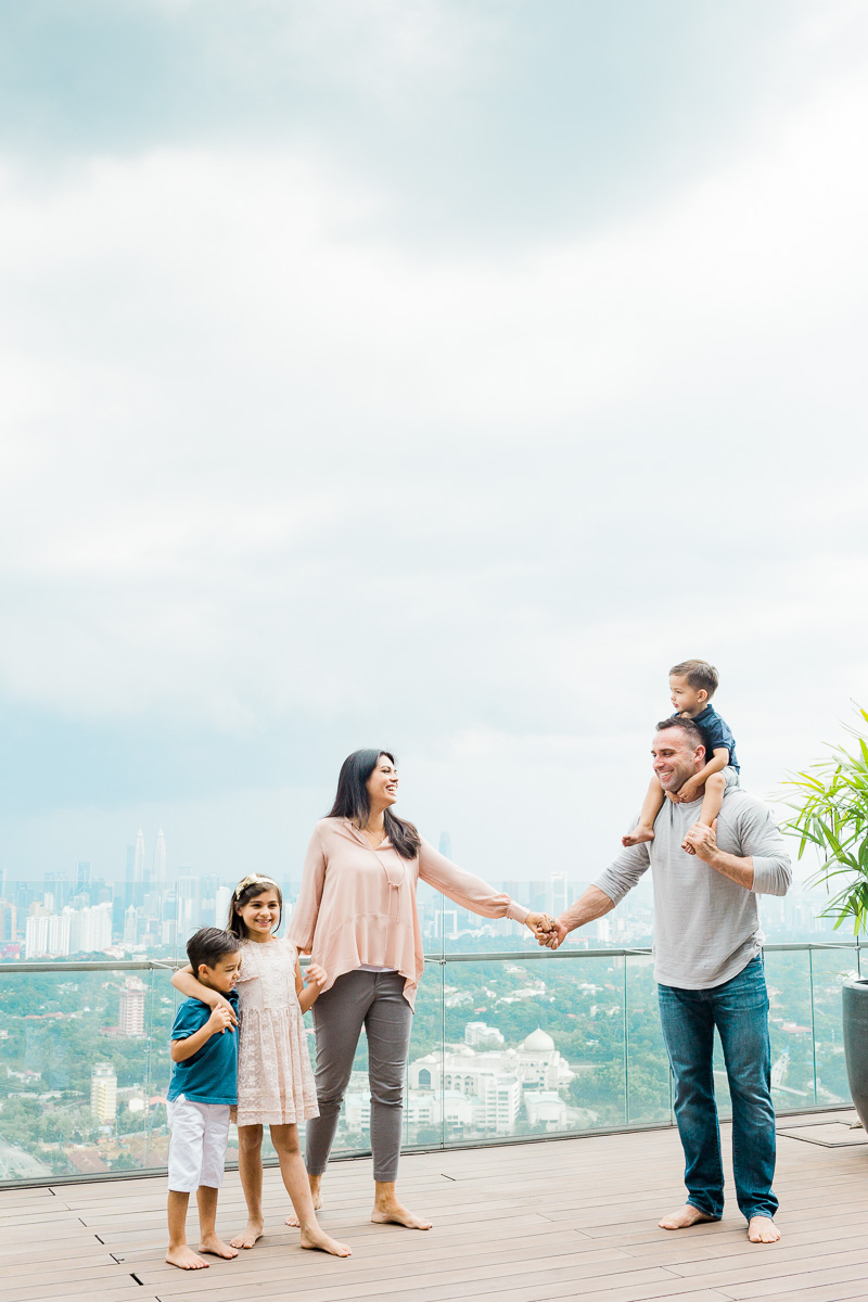 A beautiful family captured by Kuala Lumpur family photogaher Erica Knecht