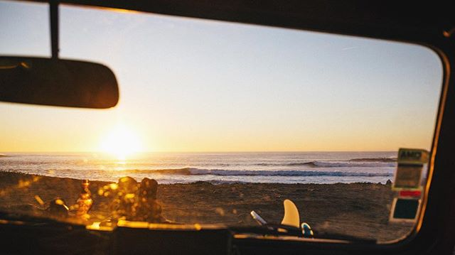 End of day, end of swell.  #bearsurfwax #coldwaterculture #coldwatersurf