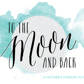 To The Moon & Back Blog Logo Design