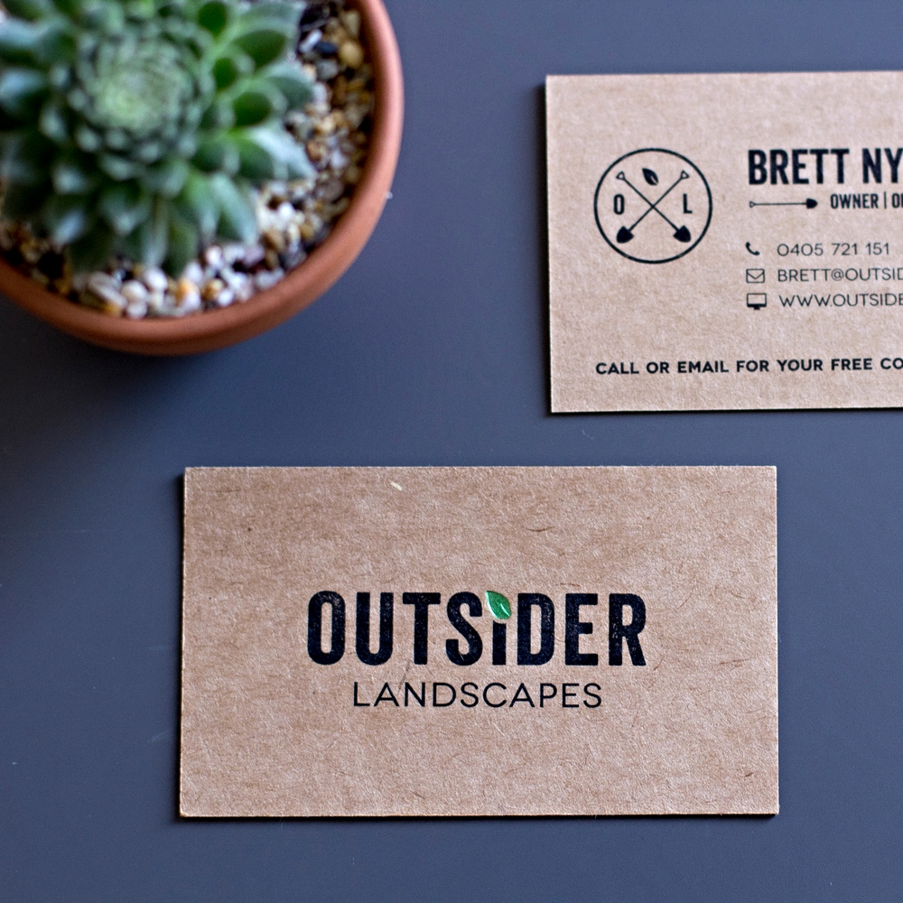 Outsider Landscapes Branding Design