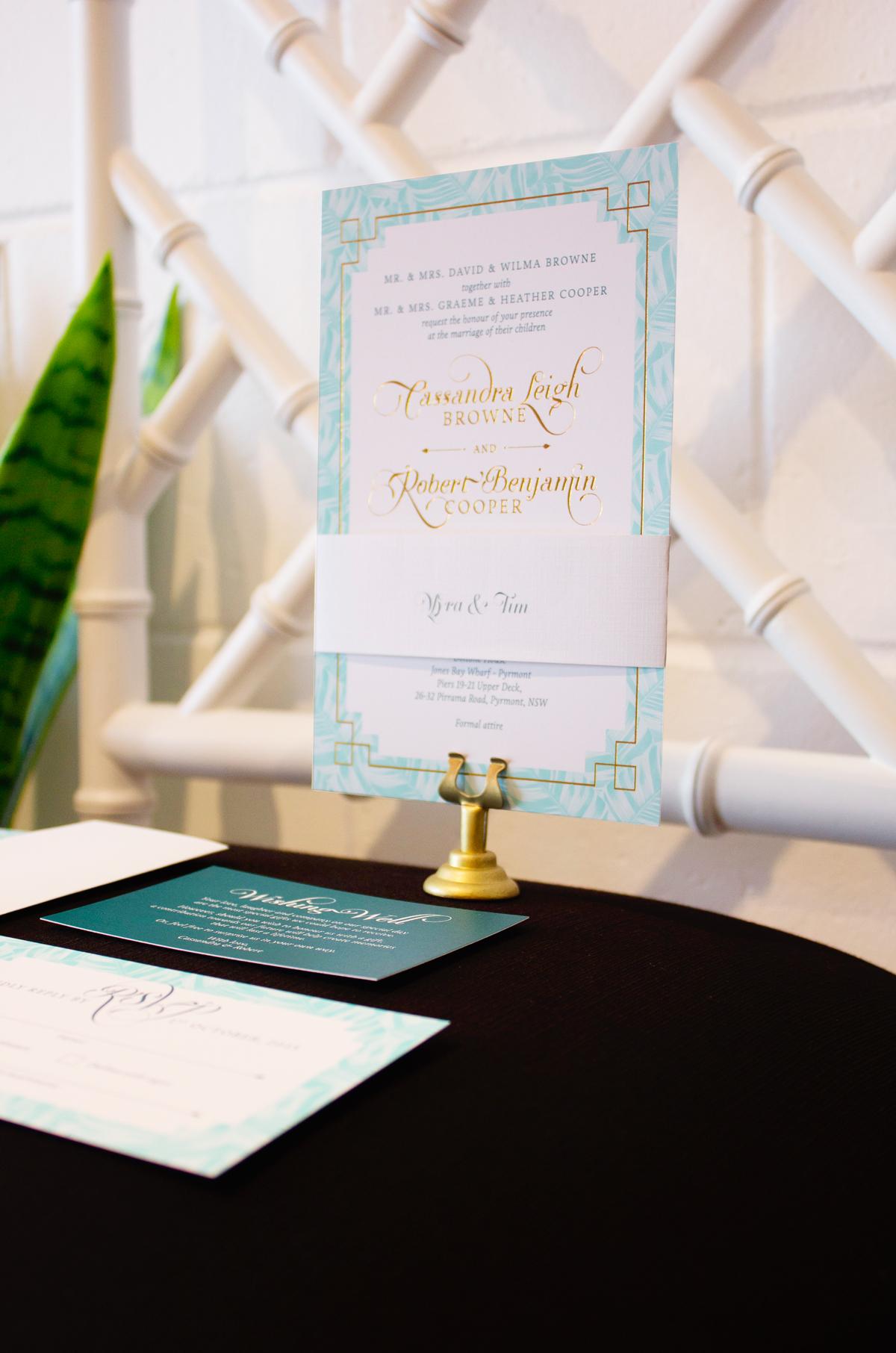 British India Wedding Invitations