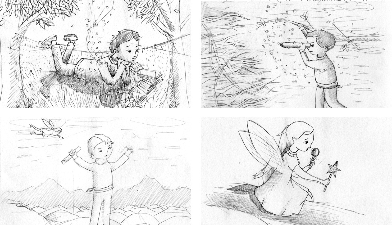 Initial sketches.