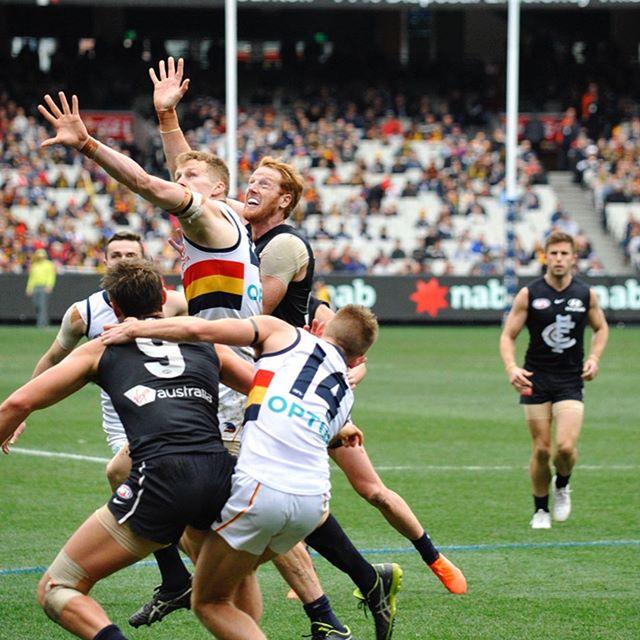 Round 19. Carlton vs. Adelaide Crows (Part 1) @afl @carlton_fc @adelaide_fc #afl #carltonfc #adelaidecrows #footyfocus #australianrulesfootball #nikon #nikond700 #d700 #nofilter