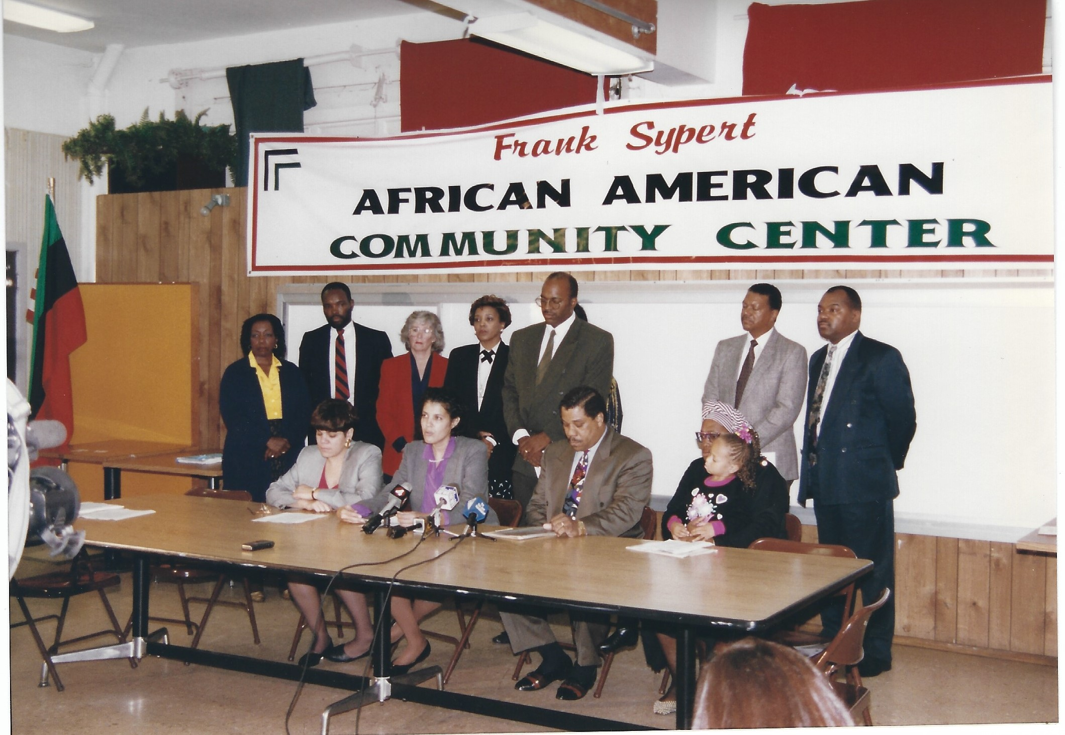 On November 26, 1977, in the upstairs conference room of the Antioch Baptist Church, 268 East Julian Street, San Jose, CA 95112 at 9:00 a.m., twelve individuals gathered to establish the Afro-American Community Service Agency later named Frank Sypert Afro- American Community Service Agency. We, the African-American Community, thank you for planting the seed and we the African American Community will nurture the seed so that it will continue to grow.  In 1978, the African American Community Service Agency (AACSA) was grated official status.