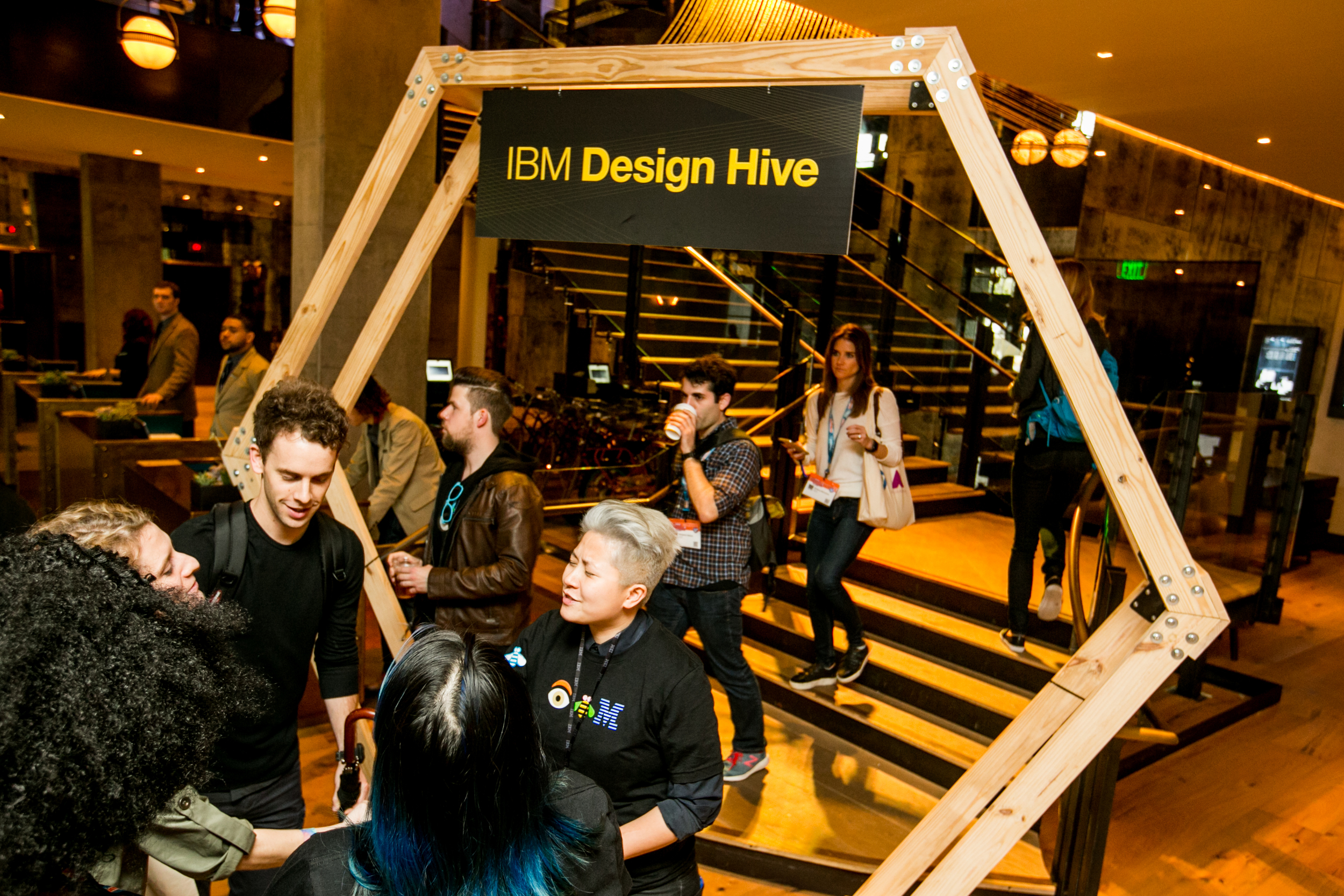 ibm design hive entrance
