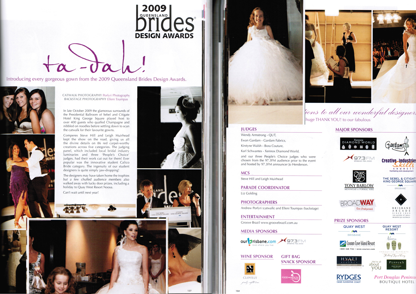 Queensland Brides Magazine, Autumn 2010