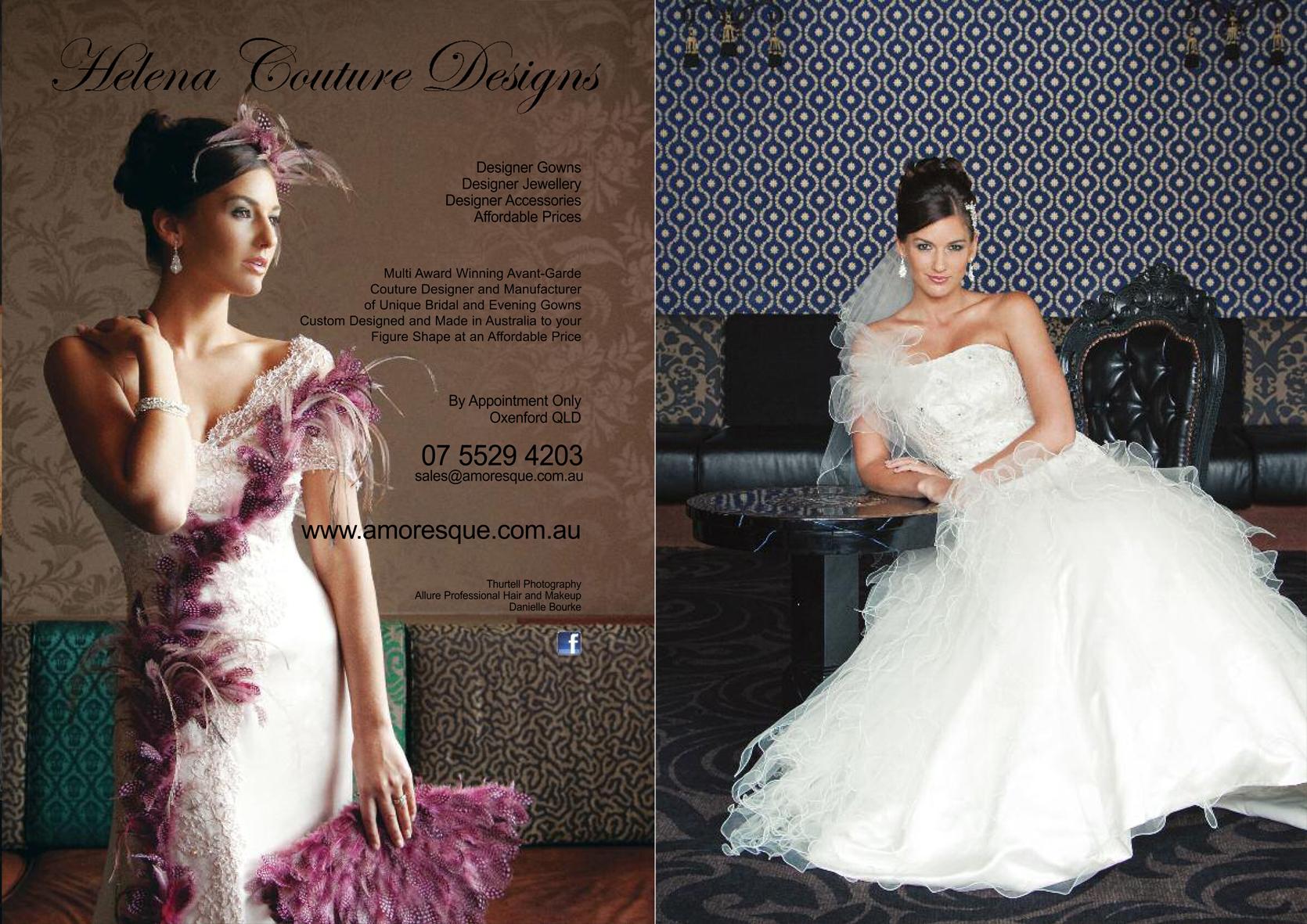Gold Coast Weddings Magazine, Spring 2012