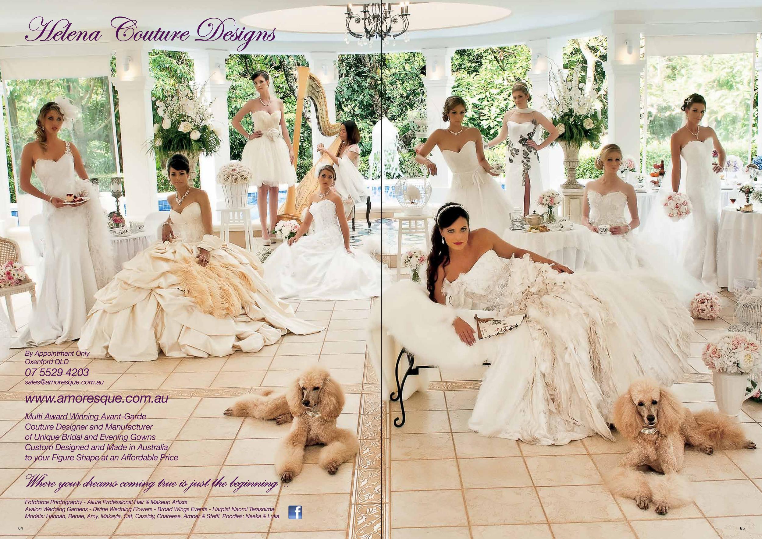 QLD Brides Wedding Magazine & Gold Coast Weddings Magazine – Autumn 2013