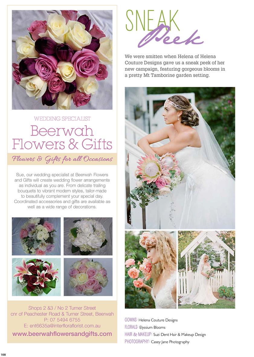 QLD Brides Magazine Winter 2014