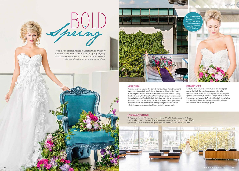 QLD Brides Magazine Spring 2014