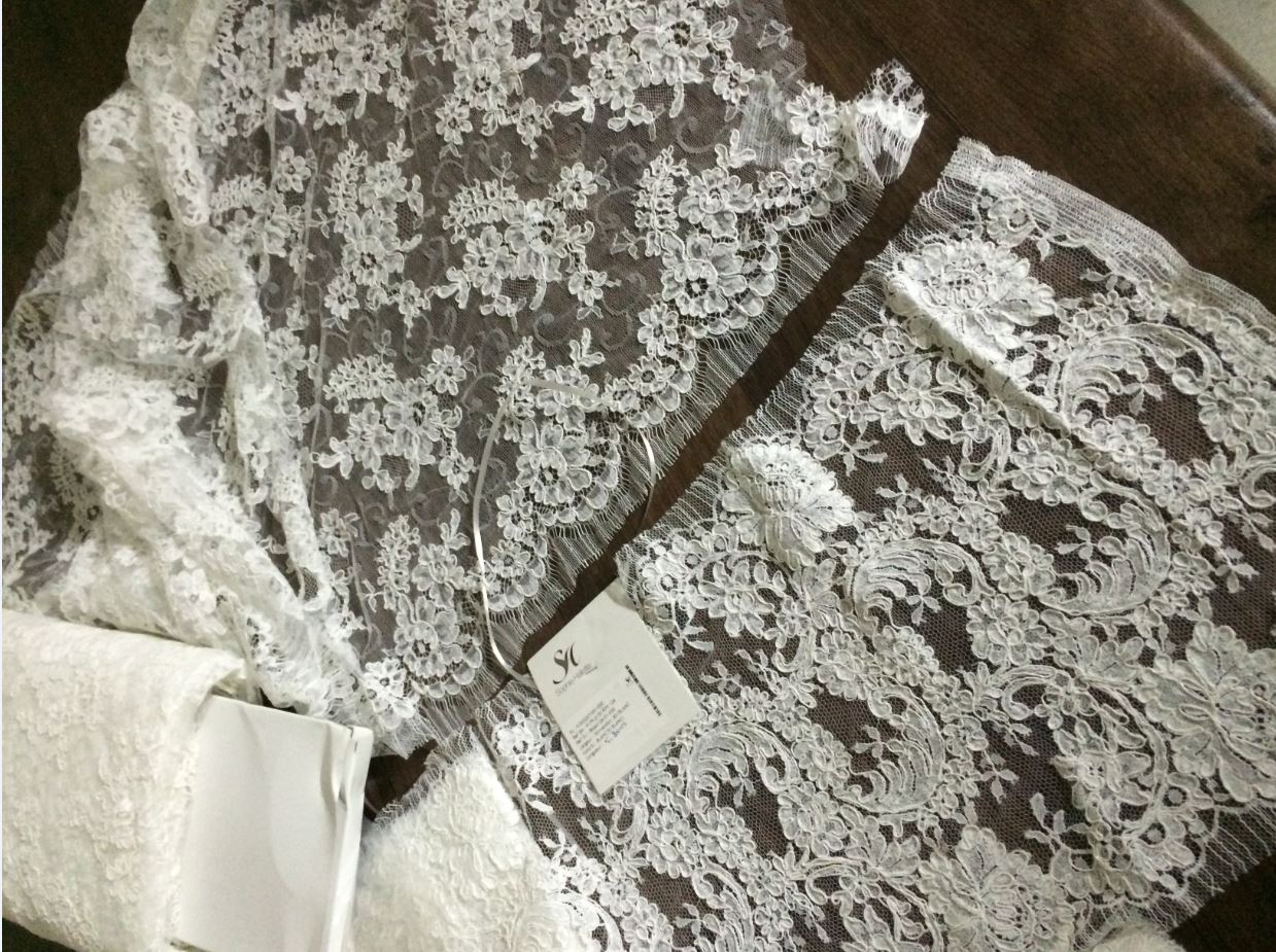 French Beaded Lace