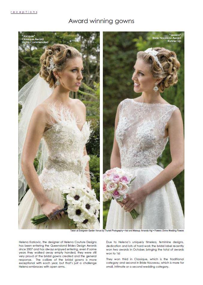 Award Winning Wedding Dresses