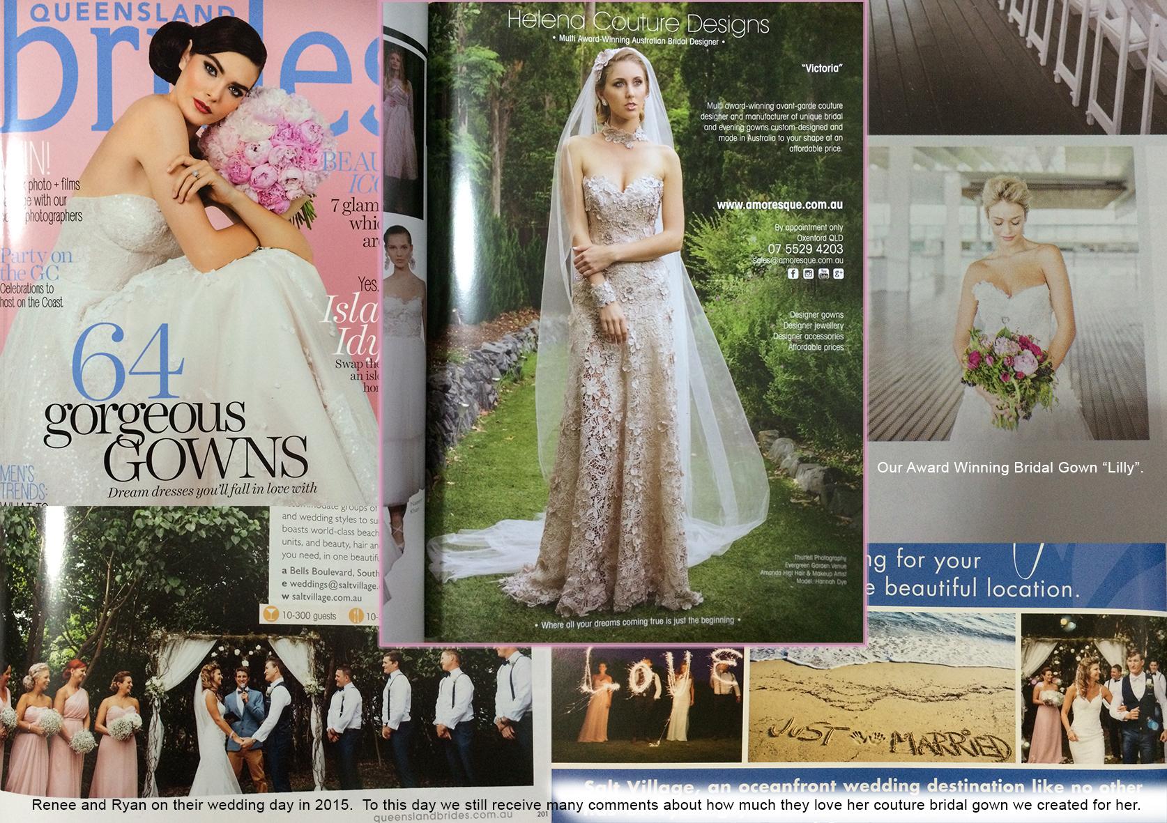 QLD Brides Magazine Winter Edition 2016.