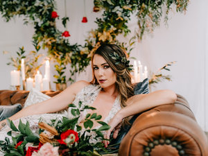 """""""A Gold Coast team of talented Wedding professionals join forces to bring you this luxe bohemian styled Wedding inspiration shoot. We have the opportunity to admire the shoot from the perspective of two photographers, Bird and Boy Photography & Milina Opsenica Photography - this shoot will ignite your wildest inner goddess."""" To the Aisle Australia"""