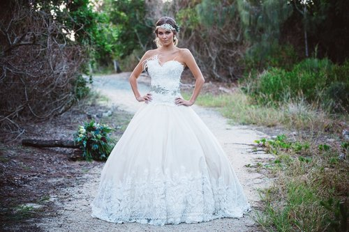 Jacquie - 2015 QLD Brides Designs AwardsClassique AwardHighly Commended - 3rd Place