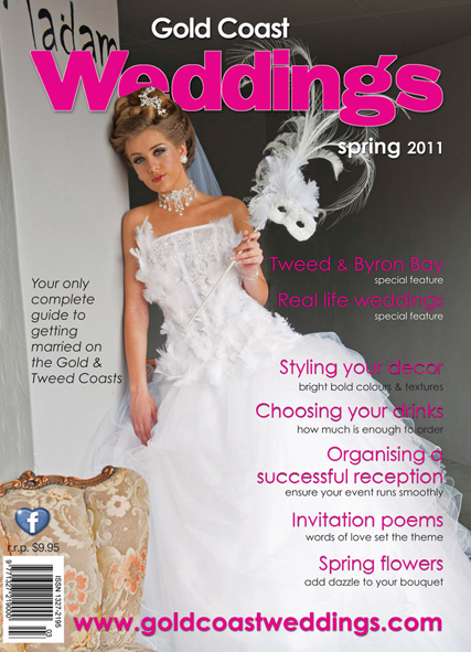 Gold Coast Weddings Spring Front Cover 2011