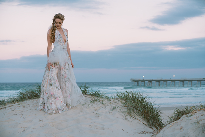 The dress that inspired many brides-to-be.   Image by KeykoDesign and Photography