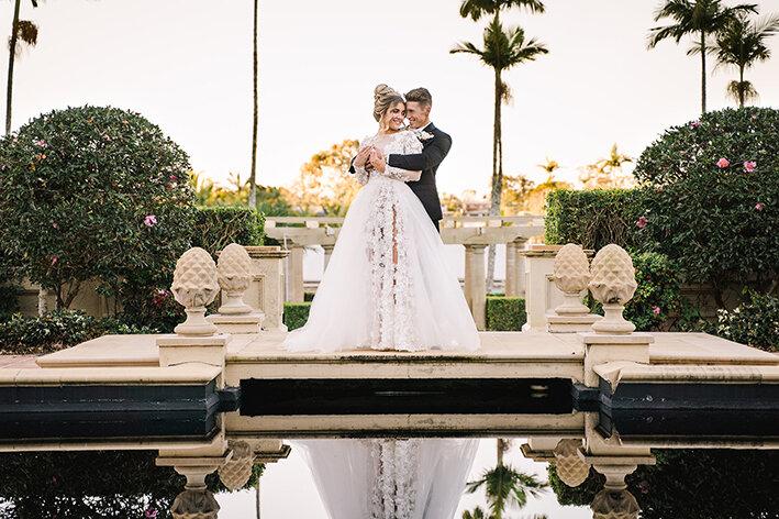 bespoke-bridal-designer-helena-couture-designs-custom-wedding-dresses-gold-coast-brisbane-affordable-boho-2019-photoshoot-sanctuary-cove-intercontinental-couple-reflection.jpg