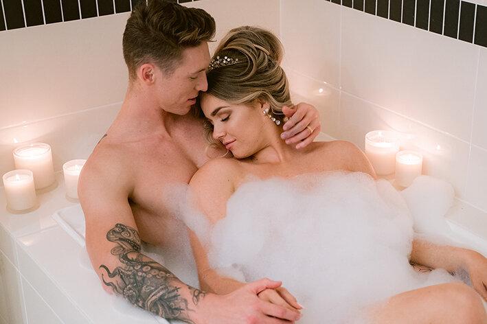 bespoke-bridal-designer-helena-couture-designs-custom-wedding-dresses-gold-coast-brisbane-affordable-boho-2019-photoshoot-sanctuary-cove-intercontinental-bubble-bath-couple.jpg