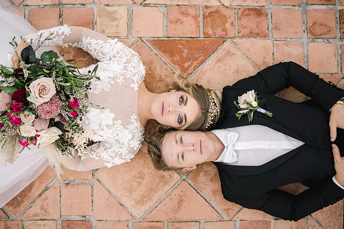 bespoke-bridal-designer-helena-couture-designs-custom-wedding-dresses-gold-coast-brisbane-affordable-boho-2019-photoshoot-sanctuary-cove-intercontinental-couple-closeup-lying.jpg