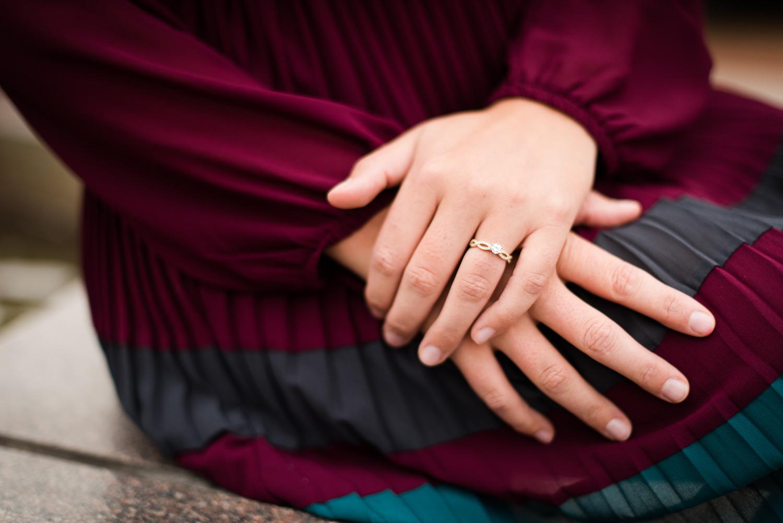 bride hands