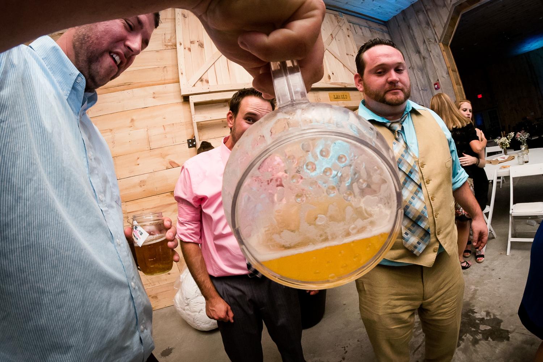 bottom of beer jug