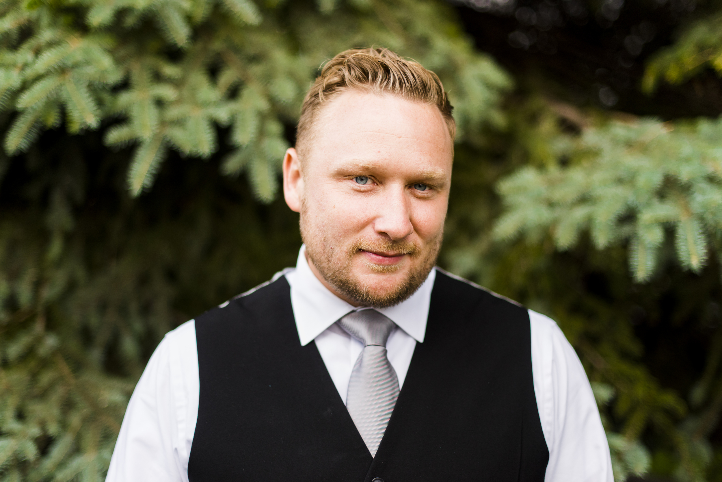 photograph of groom