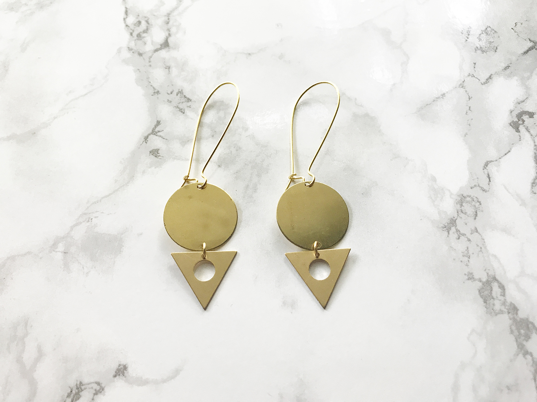 Handmade Geometric Earrings