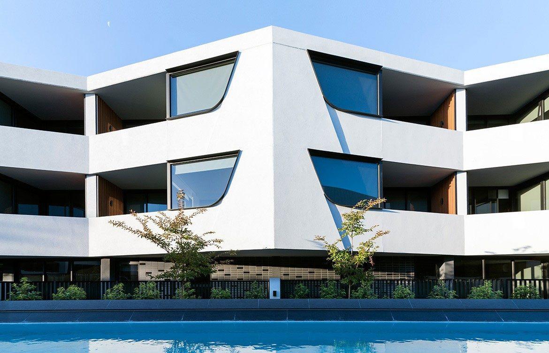Cantala Apartments, Melb, SJB