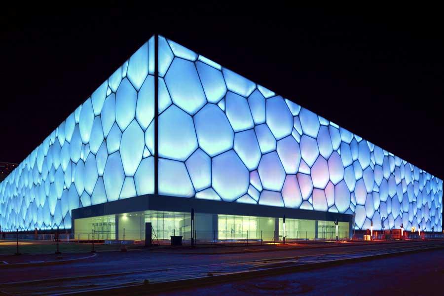 Watercube Stadium, Beijing, PTW