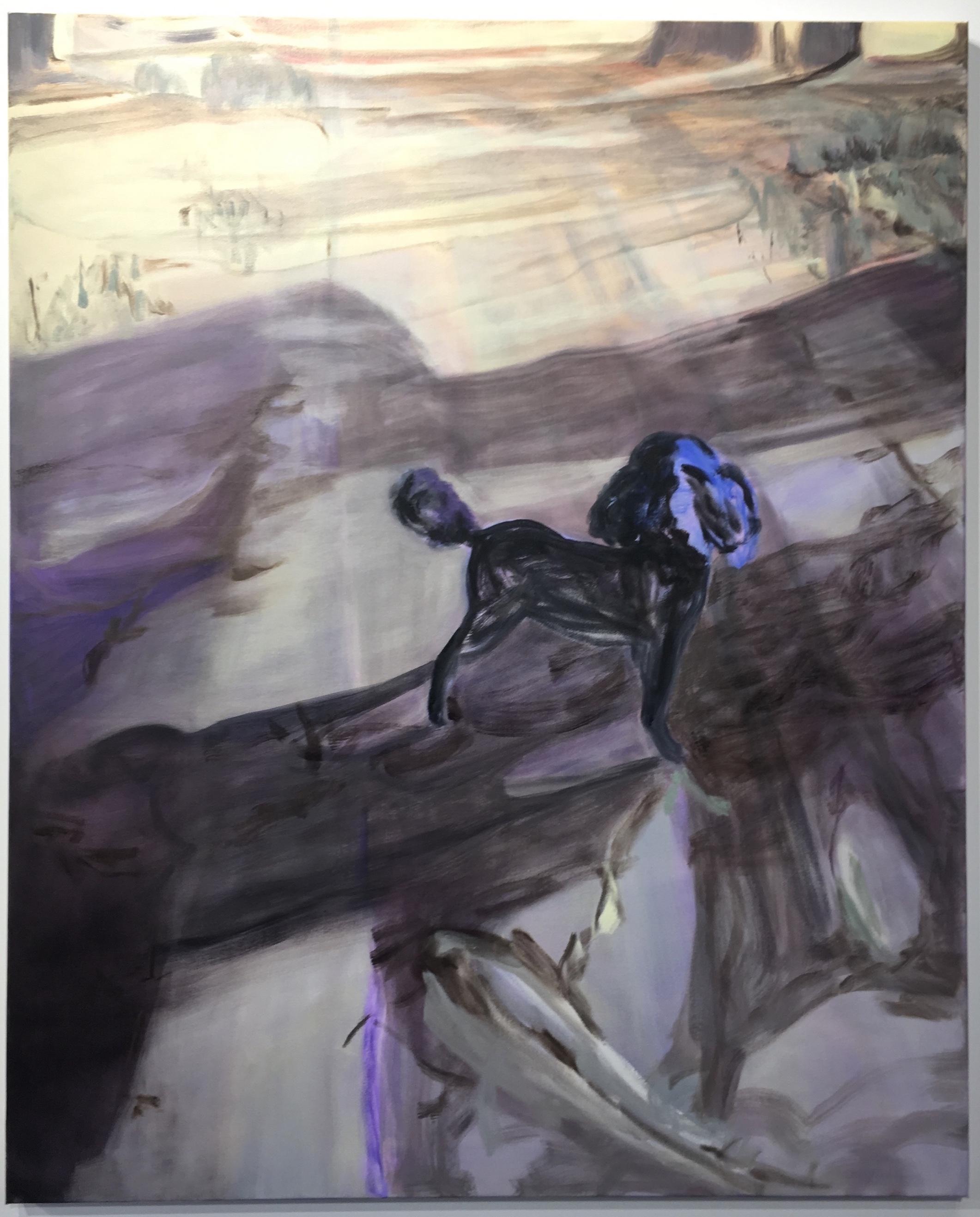 Bush Flo, Oil on Canvas 112 x 138 cm