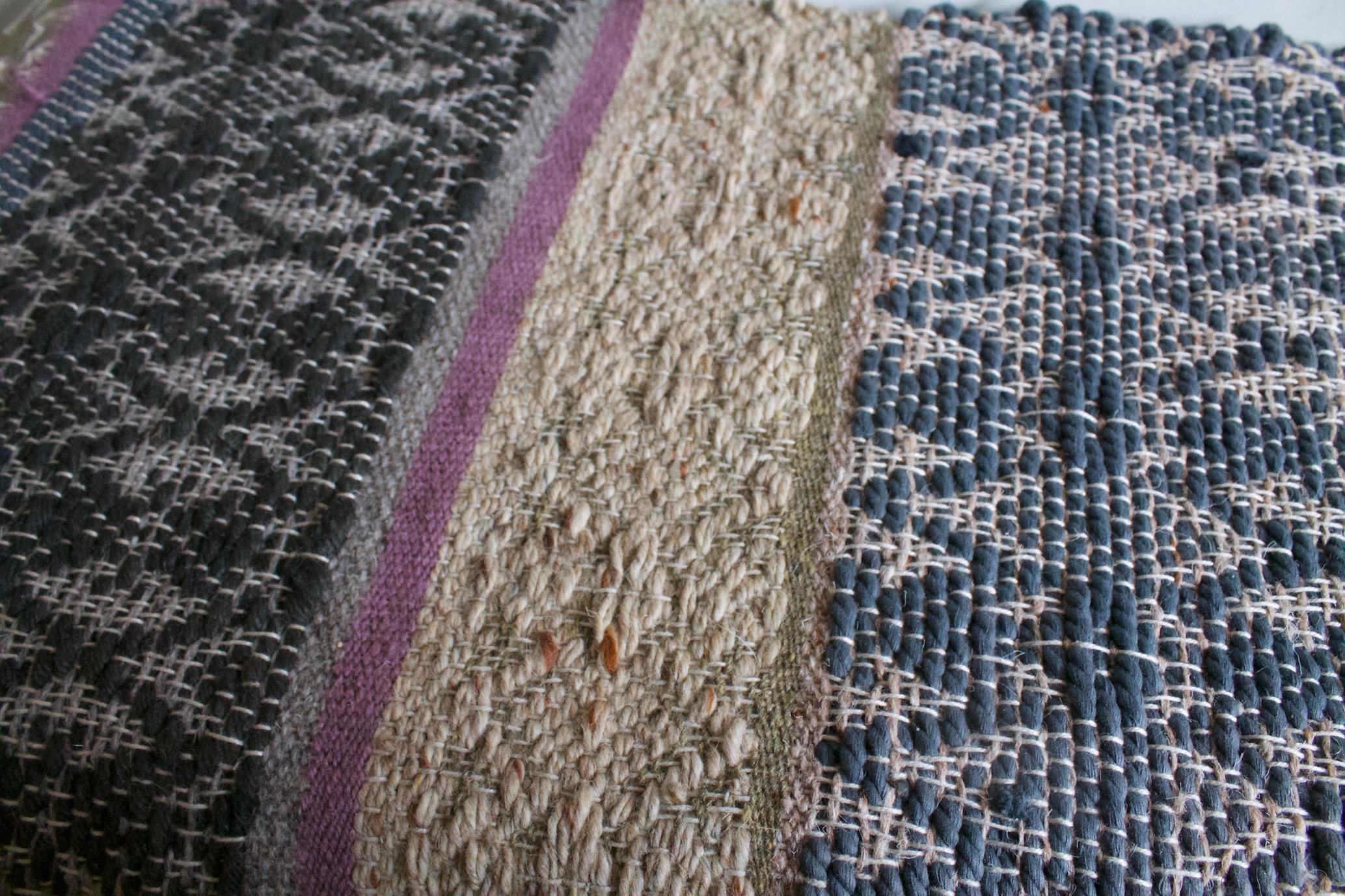 Nyssamtextiles Rug sample twill designs