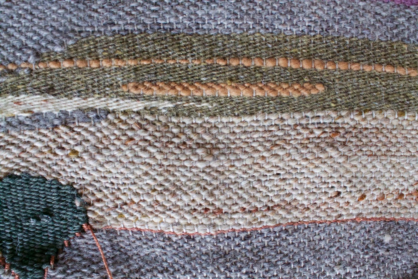 Nyssamtextiles Rug sample plain weave