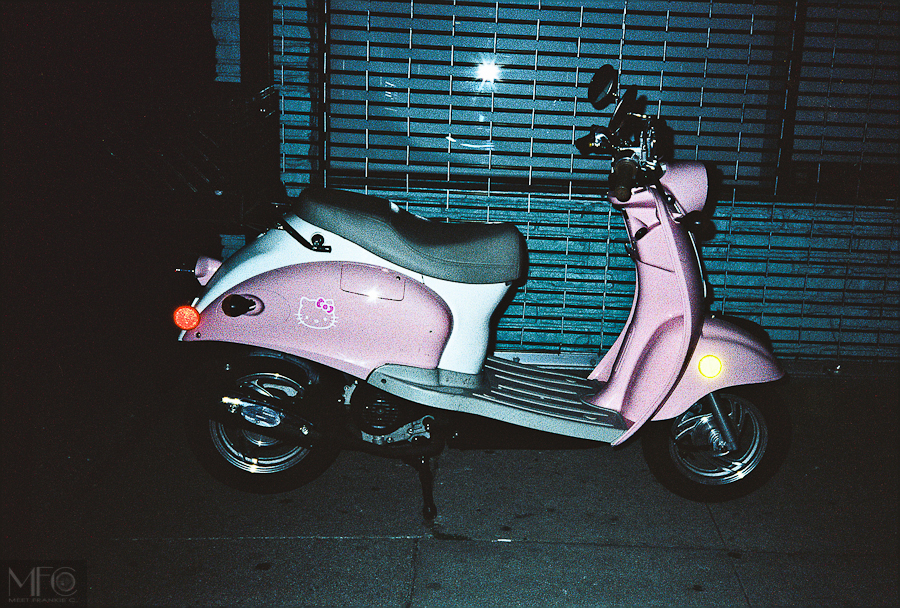 Hello kitty scooter-   35mm-   MFC-