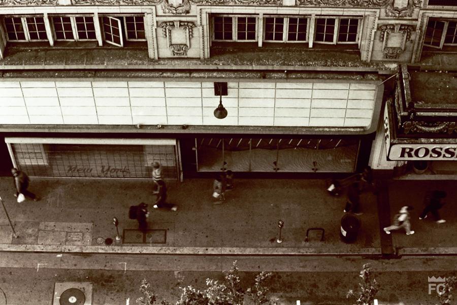 On top-people down-35mm film    Frankie C