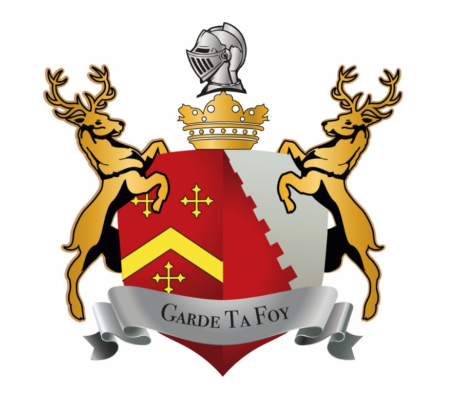 The Leez Priory Coat of Arms