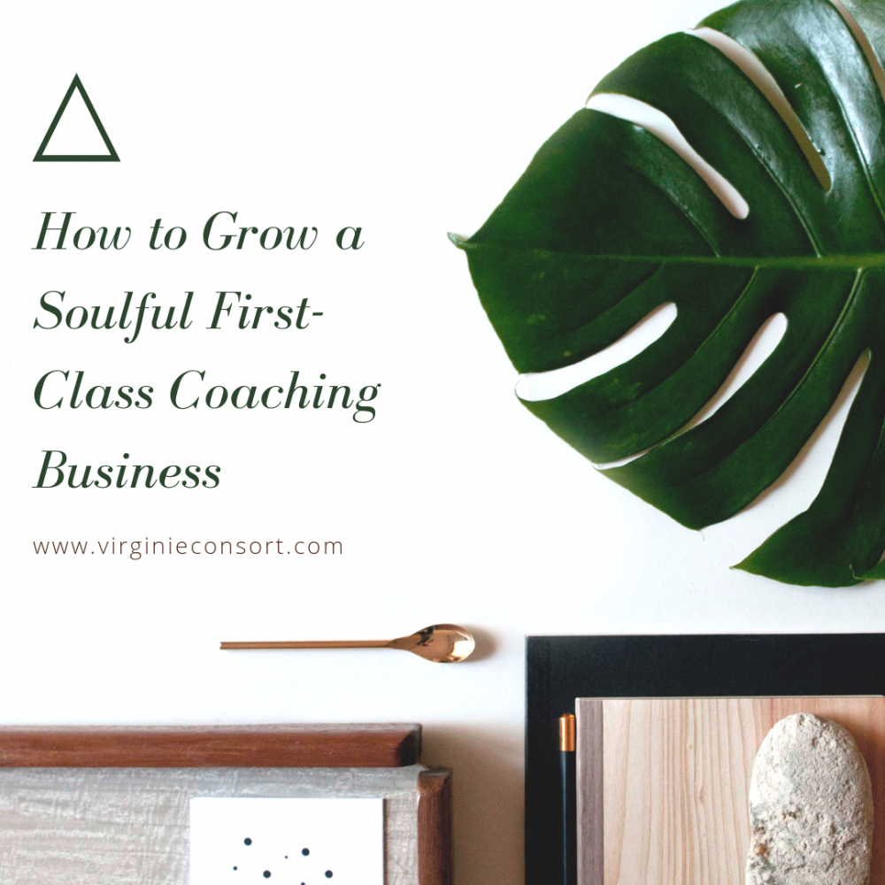 How to Grow a Soulful First-Class Coaching Business