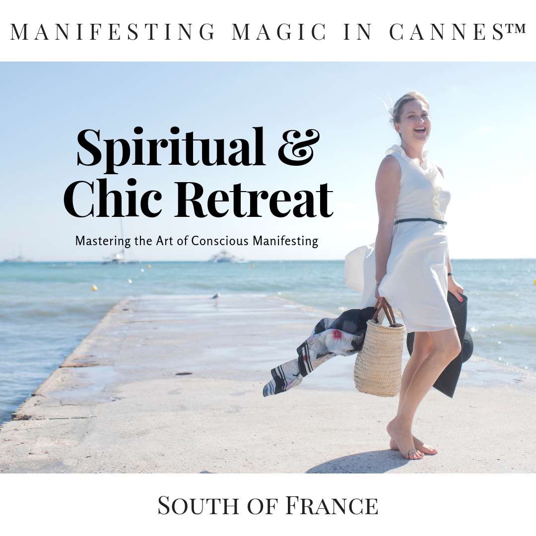 MANIFESTING MAGIC IN CANNES™ - Your transformational luxe + sisterhood retreat in the most beautiful city in the world, Cannes in the French Riviera, with your French success coach Virginie. For entrepreneurs at all stages who want to master the art of manifesting clients and cash consciously.September 19th & 20th 2019 (limited to a group of 4 souls)