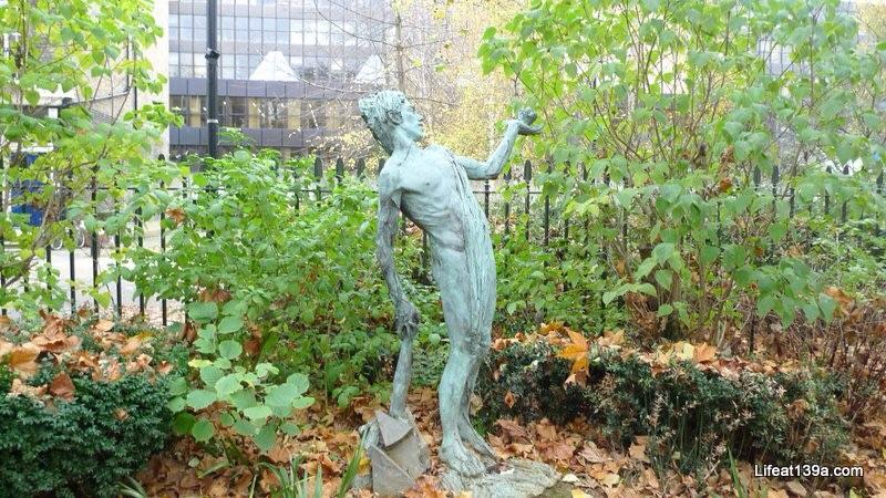 The Green Man by Lydia Kapinska