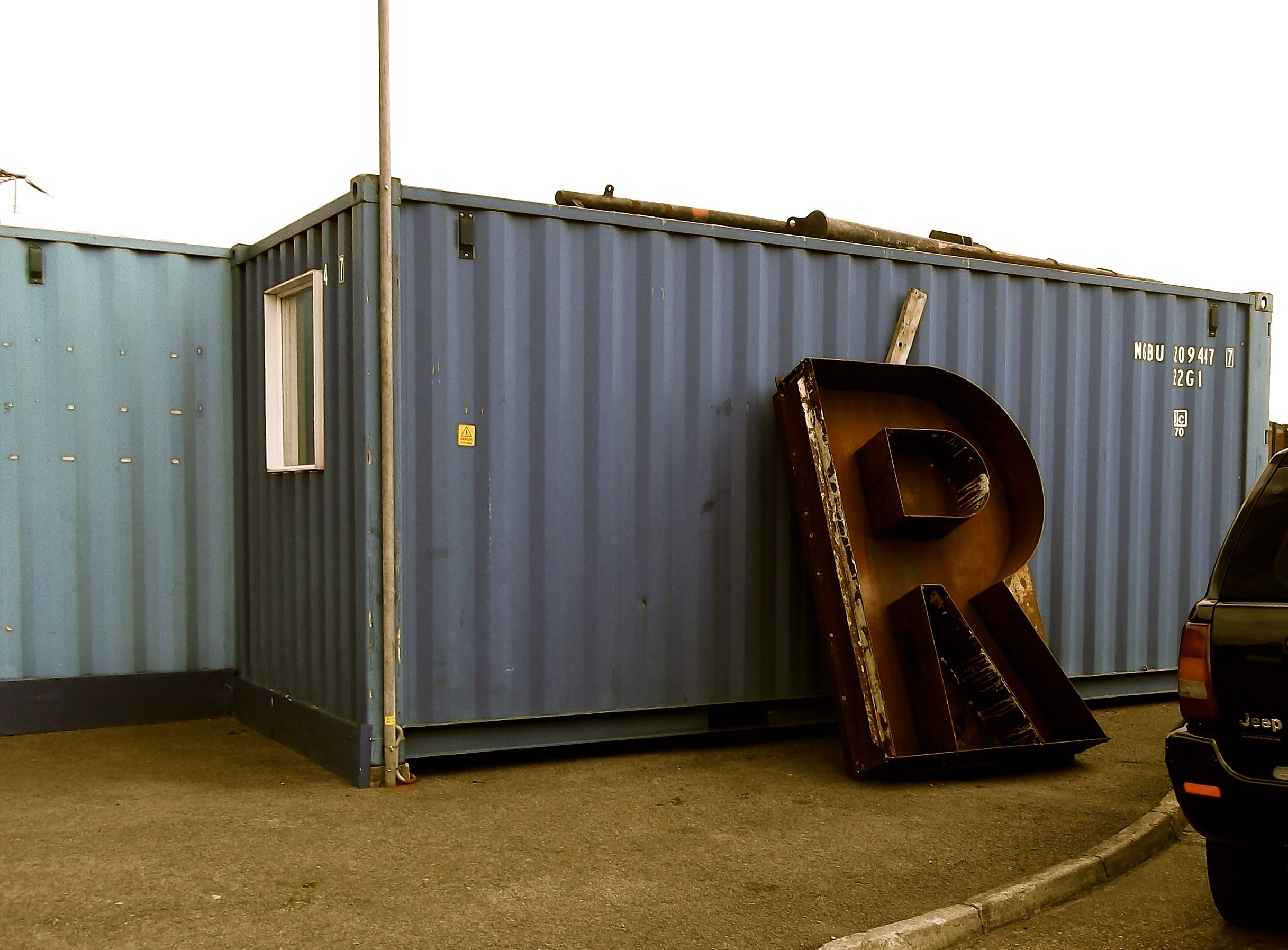 'R' - THIS, SADLY WOULDN'T FIT ON THE BACK OF MY BIKE