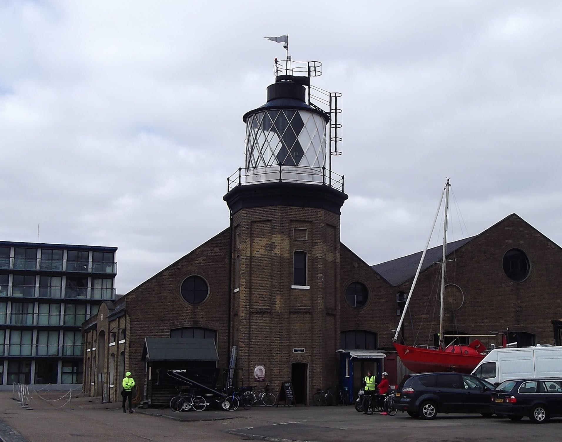 LONDON'S ONLY REMAINING LIGHTHOUSE